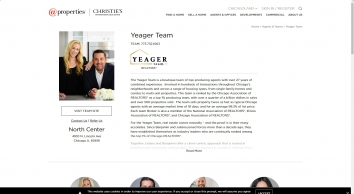 Yeager Team - @properties