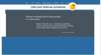 Yellow Duck Bathroom Installations