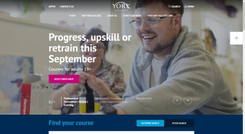 York College : Ofsted Outstanding College of Further and Higher Education