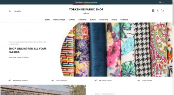 Yorkshire Upholstery Fabric Shop