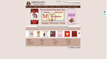 Personalise Your chocolate online
