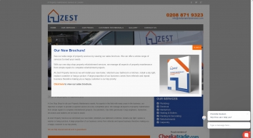 Zest Property Maintenance Services in London and surrounding areas